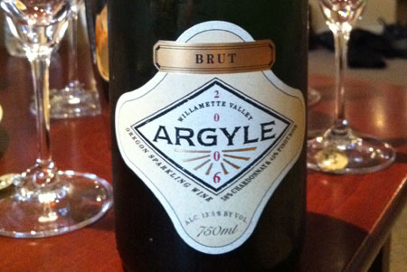 2006 Argyle Brut - Delicious domestic sparkling wine.