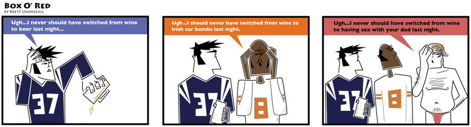 Wine comic: I never should have switched from wine to...