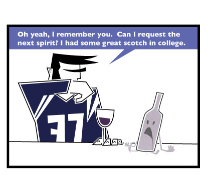 Wine comic: Ghost of wines past.