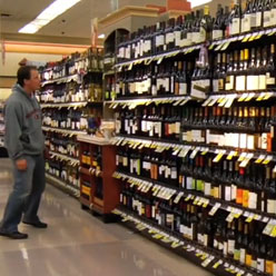 Lots of wines on sale.